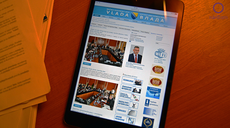 U četvrtak testna e-sjednica Vlade Brčko distrikta