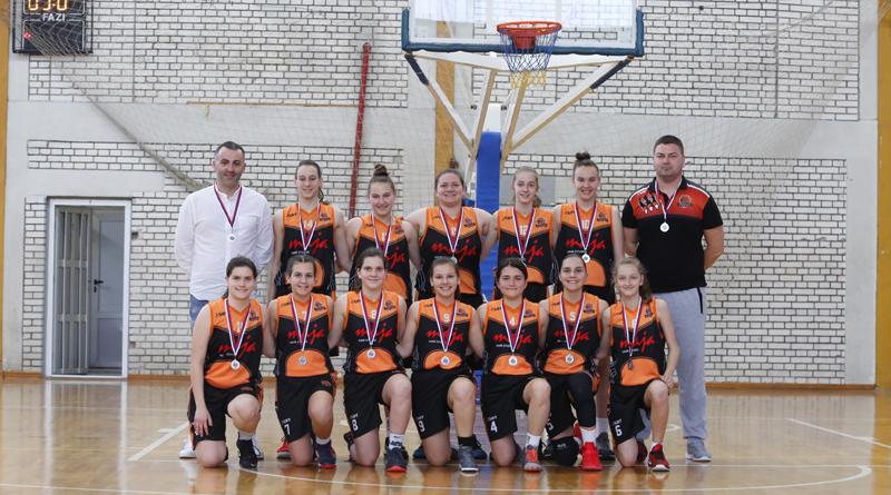 """Pionirke """"Lavova"""" vicešampionke Republike Srpske"""